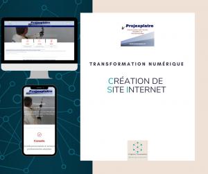 Site internet PROJEXPLATRE Virginie Braconnier Marketing Consultante