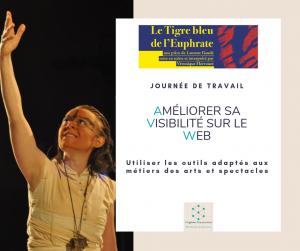 Visibilité web Arts et Spectacles Virginie Braconnier Marketing Consultante dept 86 79