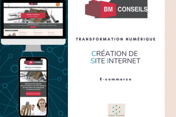 Site internet BM CONSEILS Virginie Braconnier Marketing Consultante